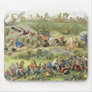 Triumphal March of the Elf-King, illustration from Mouse Pad