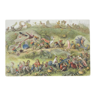 Triumphal March of the Elf-King, illustration from Laminated Placemat