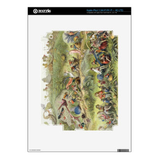 Triumphal March of the Elf-King, illustration from Skin For iPad 3
