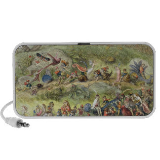 Triumphal March of the Elf-King, illustration from Portable Speakers