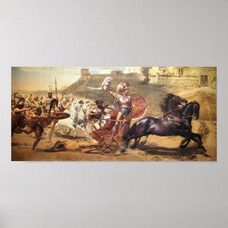 Triumphant Achilles Posters