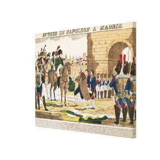 Triumphant Entry of the French into Madrid Canvas Print