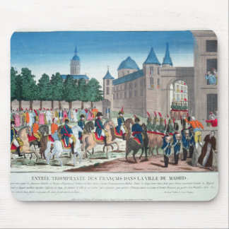 Triumphant Entry of the French into Madrid Mouse Pad