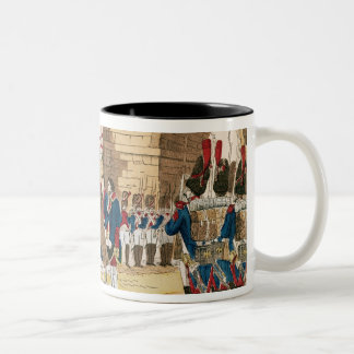 Triumphant Entry of the French into Madrid Two-Tone Coffee Mug