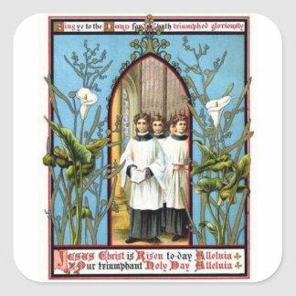 Triumphant Holy Day Stickers