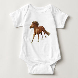 Triumphant Horse Baby Bodysuit