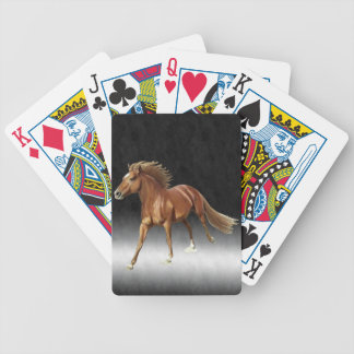 Triumphant Horse Bicycle Playing Cards