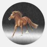 Triumphant Horse Stickers