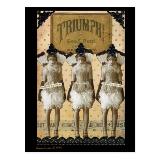 Triumphant Postcard