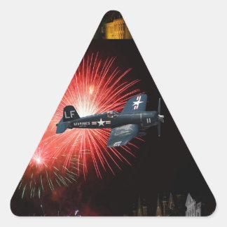 Triumphant Return Triangle Sticker