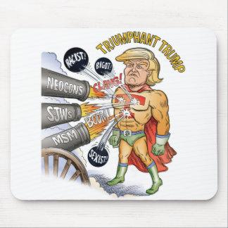 Triumphant Trump Super Hero Mousepad
