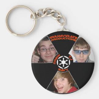 Triumvirate Productions Keychain