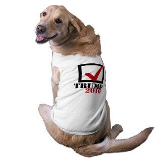 Triunfo 2016 del voto playera sin mangas para perro