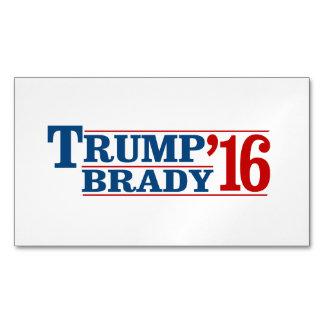 Triunfo Brady '16 Tarjetas De Visita Magnéticas (paquete De 25)