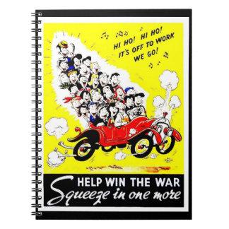 Triunfo de la ayuda el cuaderno de la guerra