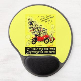Triunfo de la ayuda el gel Mousepad de la guerra Alfombrilla Gel