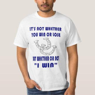 Triunfo de la Camiseta-Yo del valor de las herradu Playera
