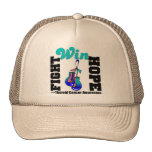 Triunfo de la esperanza de la lucha - cáncer de ti gorras