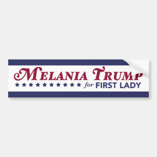 Triunfo de Melania para primera señora Donald Pegatina Para Auto