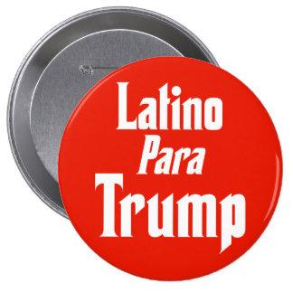 Triunfo de Para del Latino Pin Redondo De 4 Pulgadas