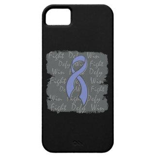 Triunfo del desafio de la lucha del cáncer iPhone 5 protector