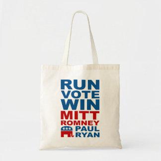 Triunfo del voto del funcionamiento de Romney Ryan Bolsa