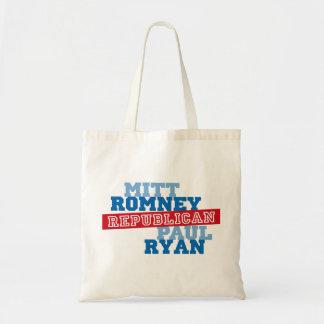 Triunfo del voto del funcionamiento de Romney Ryan Bolsas De Mano