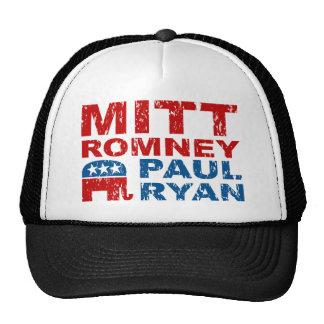 Triunfo del voto del funcionamiento de Romney Ryan Gorra