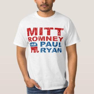 Triunfo del voto del funcionamiento de Romney Ryan Playera