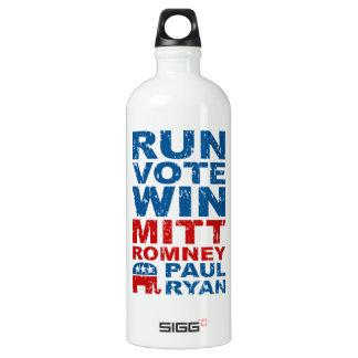 Triunfo del voto del funcionamiento de Romney Ryan