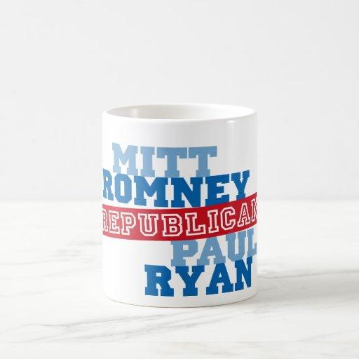 Triunfo del voto del funcionamiento de Romney Ryan Taza