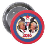 Triunfo/Gingrich 2016 Pin Redondo De 3 Pulgadas