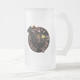 Triunfo, lugar, demostración - engranaje de la taza de cristal