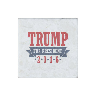 Triunfo para el presidente 2016 cinta certificada imán de piedra