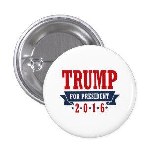 Triunfo para el presidente 2016 cinta certificada pin redondo 2,5 cm