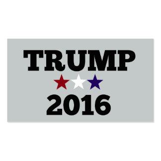 Triunfo para el presidente 2016 tarjetas de visita