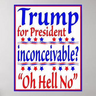 Triunfo para el presidente póster