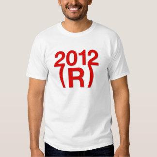 Triunfo republicano en 2012 remera