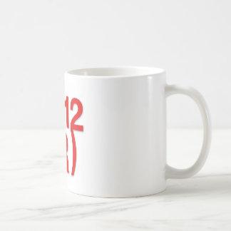Triunfo republicano en 2012 tazas de café