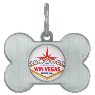 Triunfo Vegas Placa De Mascota