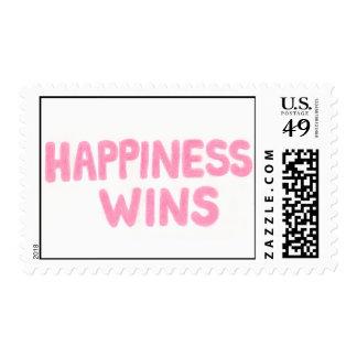 Triunfos de la felicidad franqueo