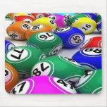 triunfos de la loteria alfombrilla de ratón
