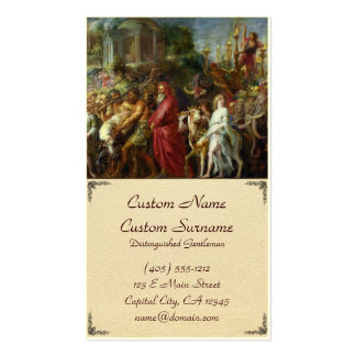 Triunfos de la pintura de César Peter Paul Rubens Tarjetas De Visita