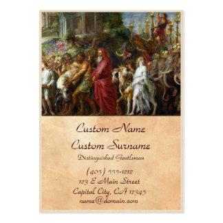 Triunfos de la pintura de César Peter Paul Rubens Tarjetas De Visita Grandes