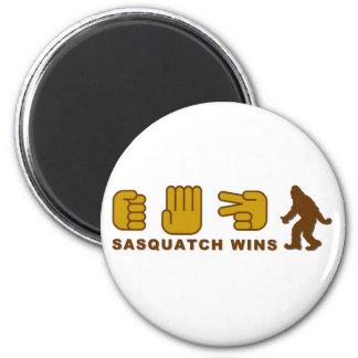 Triunfos de Sasquatch Imán Redondo 5 Cm