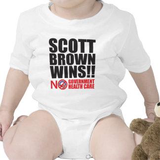 ¡Triunfos de Scott Brown! Traje De Bebé