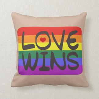 Triunfos del amor cojín decorativo