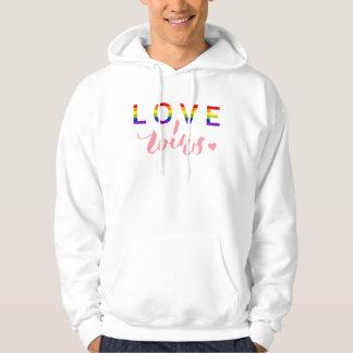 Triunfos del amor - diseño de la tipografía de las pulóver