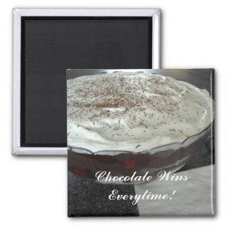 ¡Triunfos del chocolate cada vez! Imán De Frigorífico