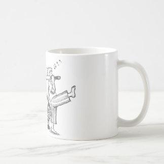 Triunfos del muchacho sobre monstruo de la boogie taza